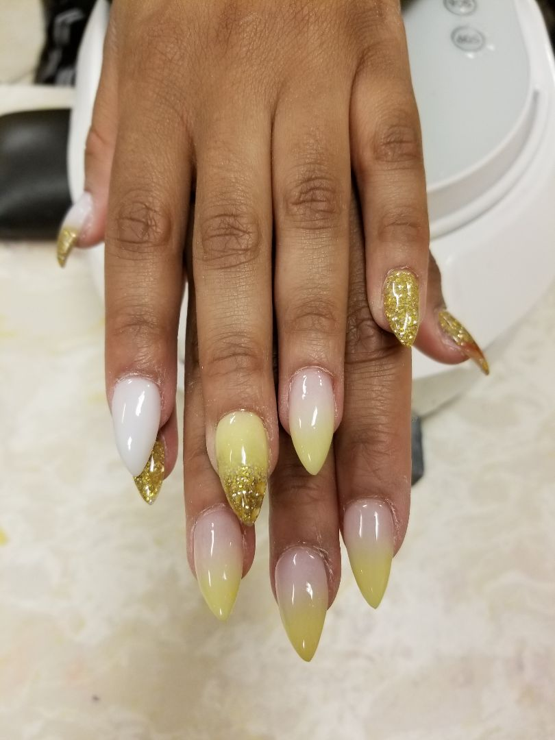 Happy Nails & Spa   Nail salon in Chesapeake, VA 23321   Pedicure, Manicure, Acrylic, Pink & White, Gel